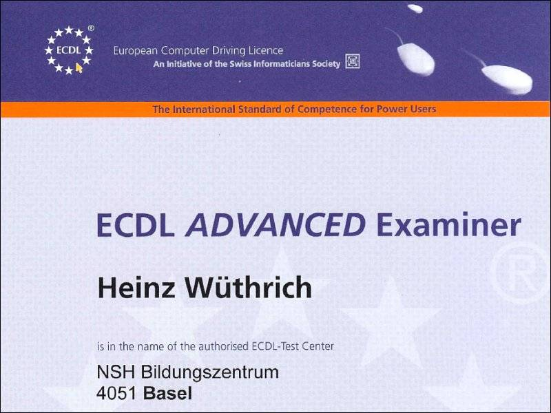 ECDL Ecaminer Advanced