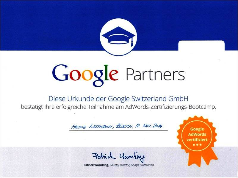 Google Partner AdWords 2014